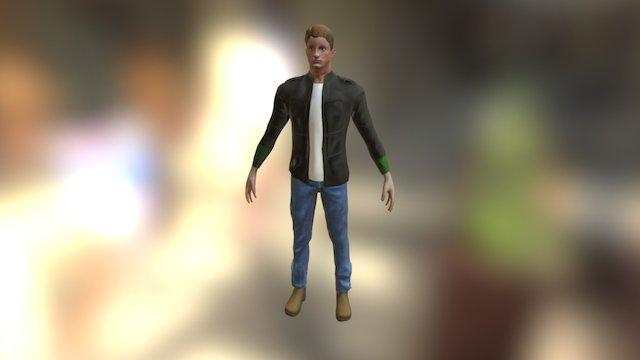 Clothing Mesh 3D Model