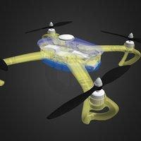 OpenRC 450 Quad 3D Model