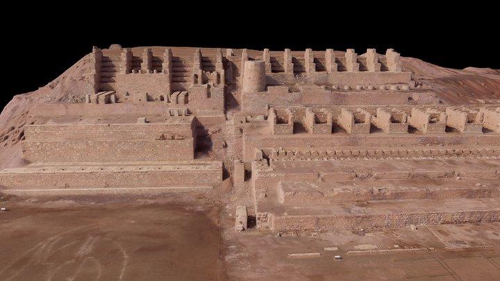 Ruinas de Huanchaca, Antofagasta, Chile 3D Model