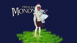 Princess Mononoke - もののけ姫 3D Model