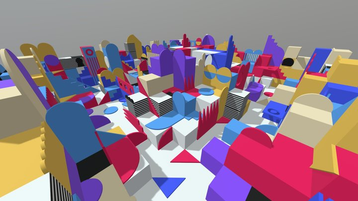 Wonderland 3D Model