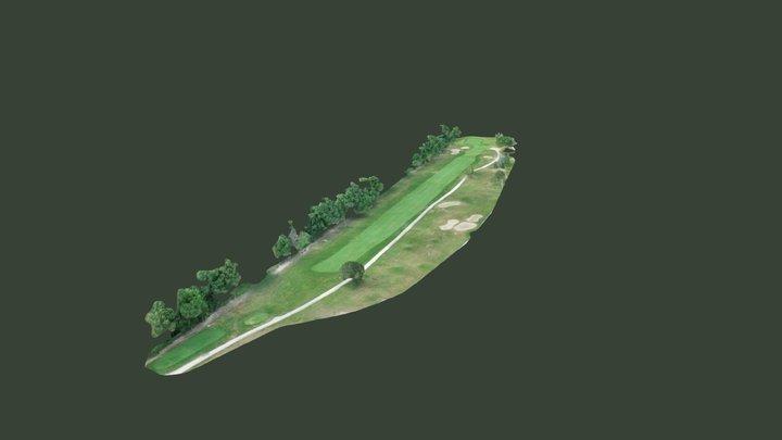 St. Clair Shores Golf Course - Hole #8 3D Model