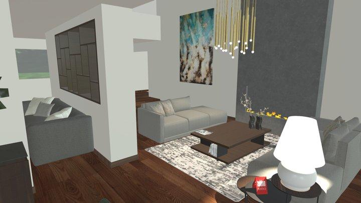 Interior Design Scene by Mobles&Architetture 3D Model