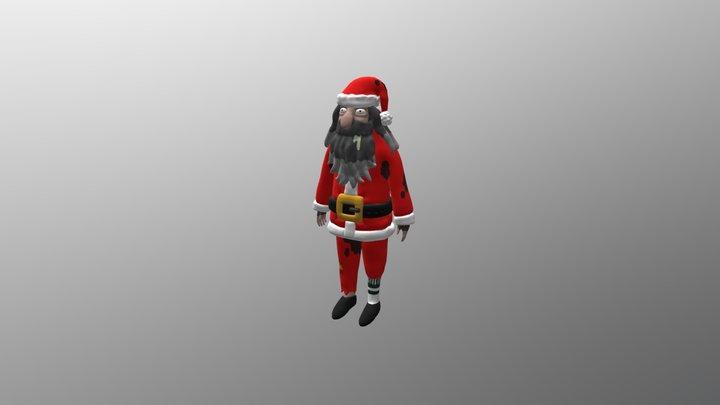 Homeless Santa (Rick and Morty) 3D Model