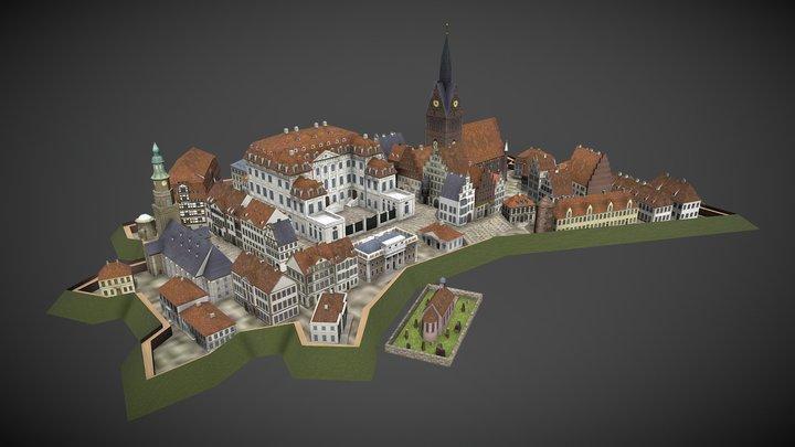 City Model for Hannover 3D Model