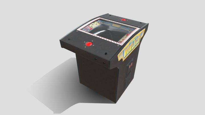 Tehkan World Cup Arcade 3D Model