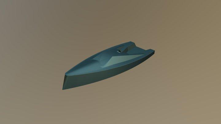 1170 Hull + Deck 3D Model