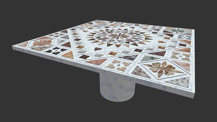 Reconstitution d'une table 3D Model