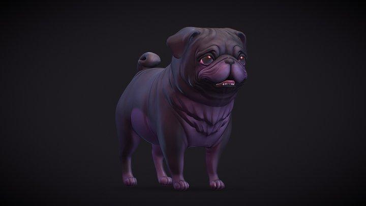 Dark Puggie 3D Model