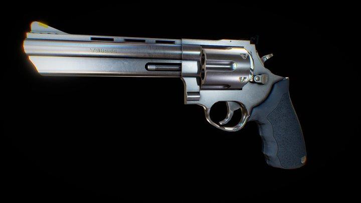 Taurus Magnum Revolver 3D Model
