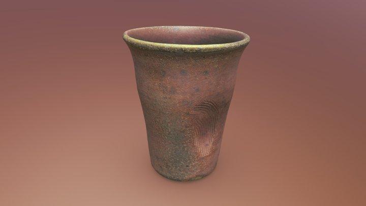 Studio Pottery Beaker 3D Model