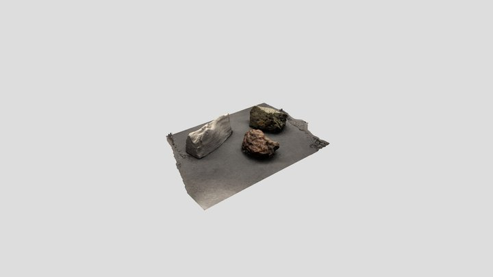 Iron Specimens 3D Model