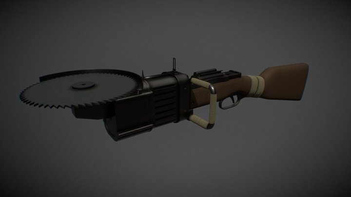 RIPSAW (From Cod) 3D Model