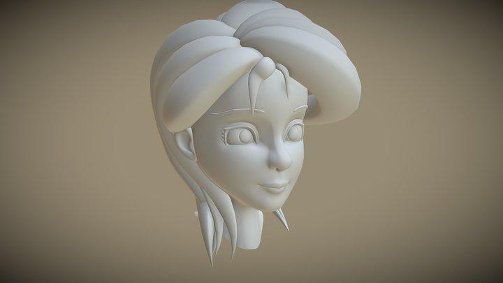 Head Prototype 3D Model
