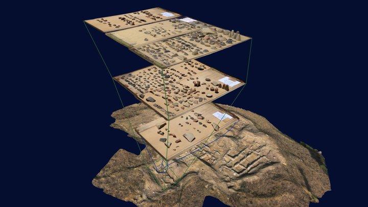 Cittadella - Tabletop Pottery - Trench 4 3D Model