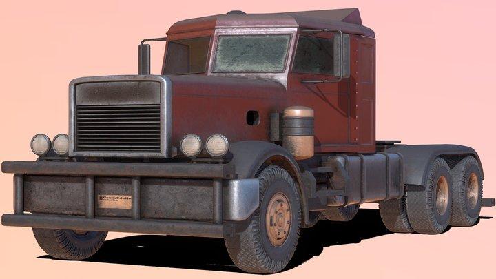 Vehicle Model_001 3D Model