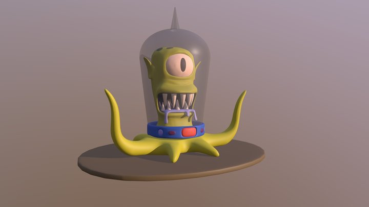 Kang (or) Kodos 3D Model