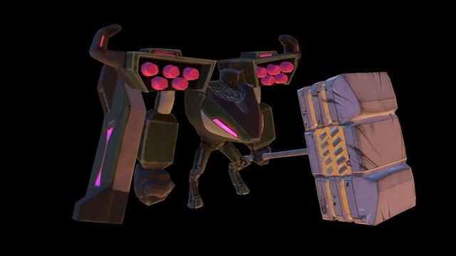 Ironclad 3D Model