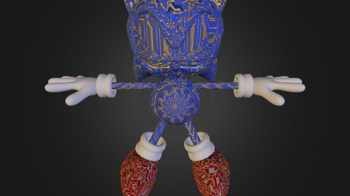 PC Computer - Sonic Generations - Sonic the Hedg 3D Model