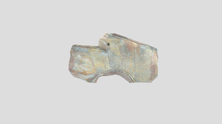Presa de cola de la mina Chilcobija 3D Model