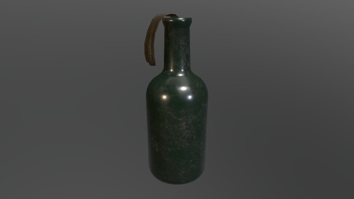 Molotov (Molotov's Cocktail) 3D Model