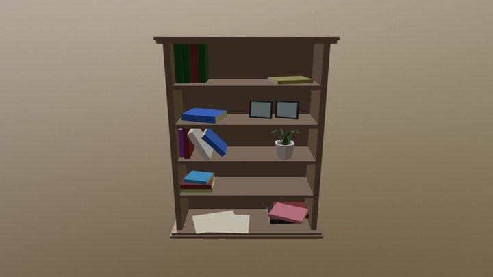 Bookshelf - Household Props Challenge 3D Model