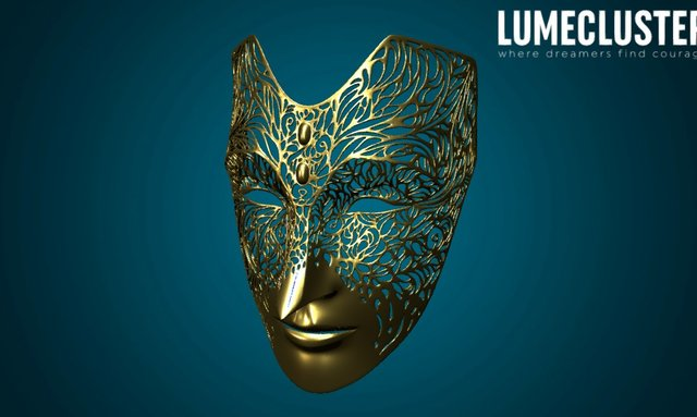 Empress Celene Mask (Dragon Age: Masked Empire) 3D Model