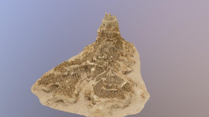 ArtOnTheGreen2019SandCastle Final 3D Model