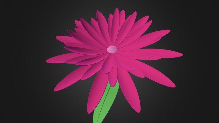 3d Flower 3D Model