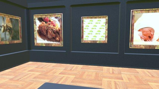 Instamuseum for @daiju12 3D Model