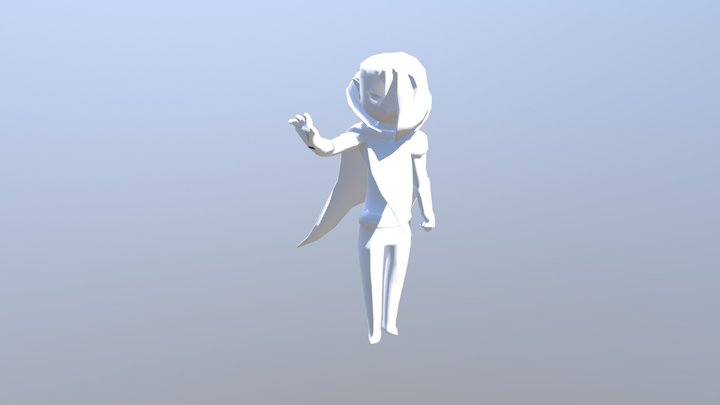 Ghirahim Statue 3D Model