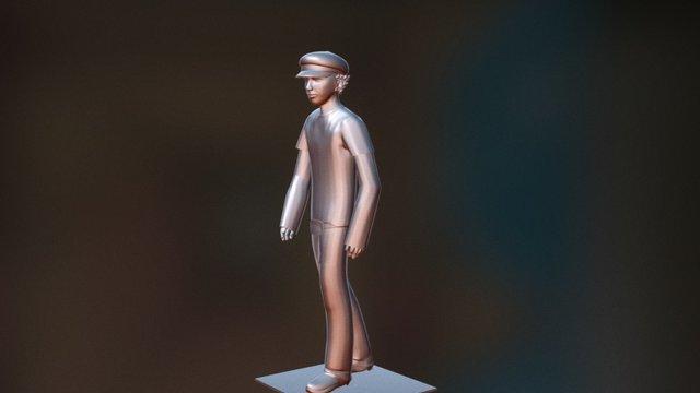 3D Character, Rowan 3D Model