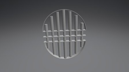 Parrilla Oberta 3D Model