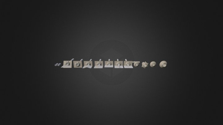 Block 001 3D Model