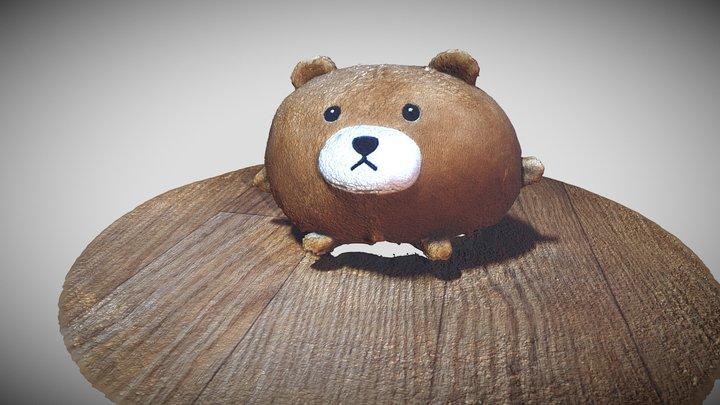 Teddy bear #StudentProject 3D Model