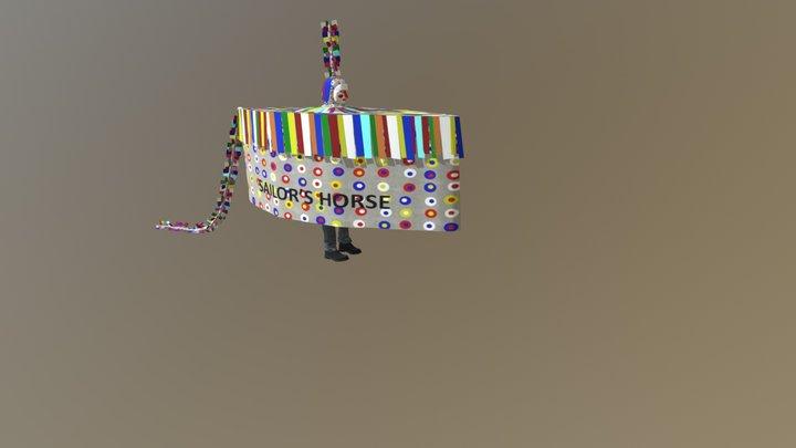 Minehead's Hobby Horse 3D Model