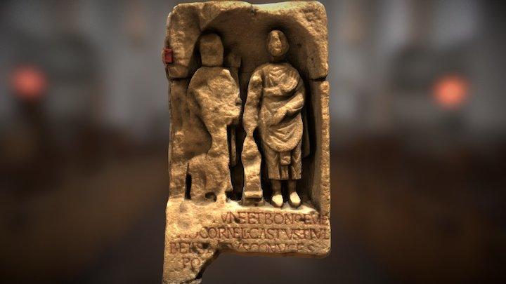 Roman Relief Sculpture from Caerleon 3D Model