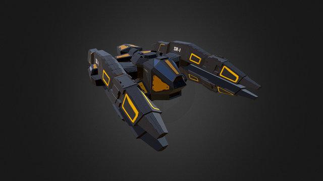 Space Ranger SR1 3D Model