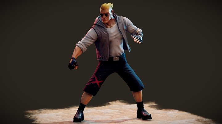 Comix Zone: Sketch Turner 3D Model