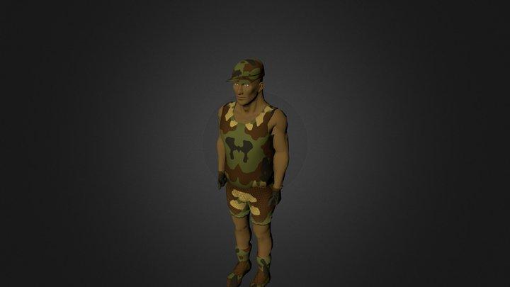 Soldado.blend 3D Model