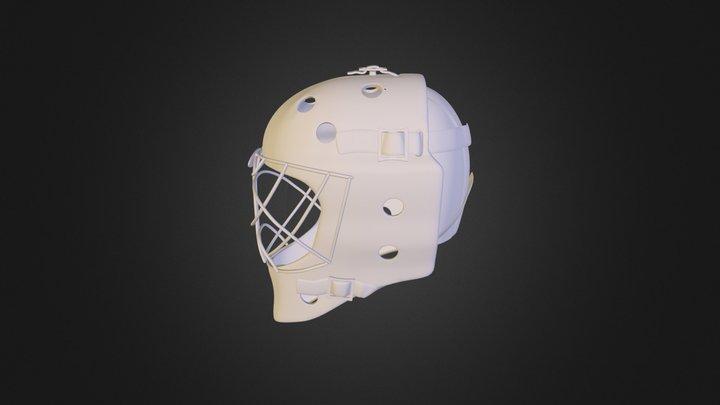 Hockey-Mask-2 3D Model