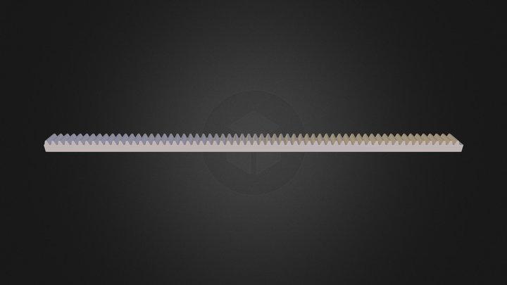parametric_lego_rack_gear_20130320-23314-1ryavhc 3D Model