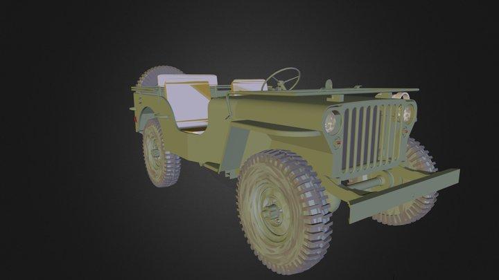 jeep.dae 3D Model