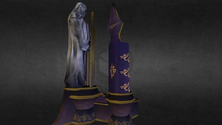 Organ of Enchanting Darkness 3D Model