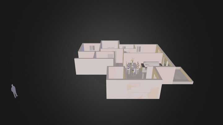 Our House Furnished 3D Model