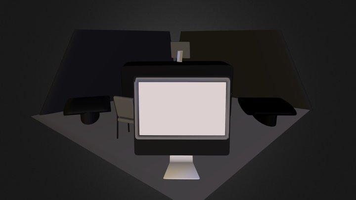 Asymmetric 0001 (Starter ED-C2 Booth).zip 3D Model