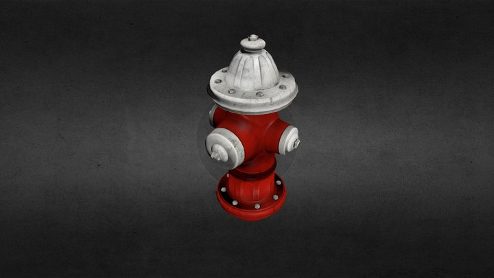 fire hydrant.blend 3D Model