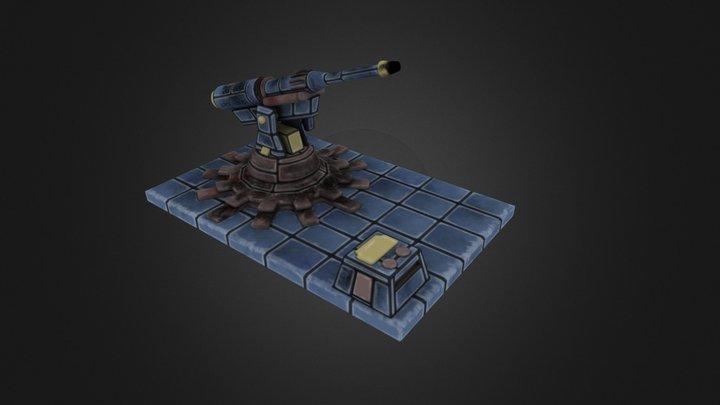 Arquebus 3D Model