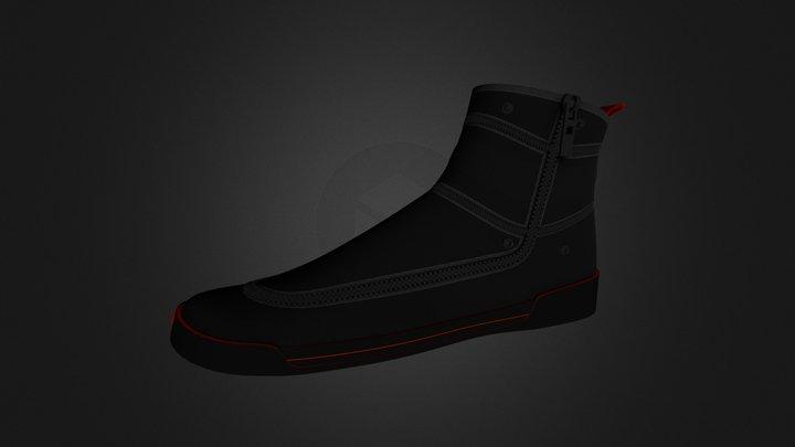 Sneaker (Full Height) 3D Model