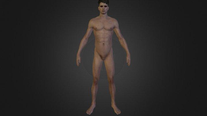 dante naked base 3D Model